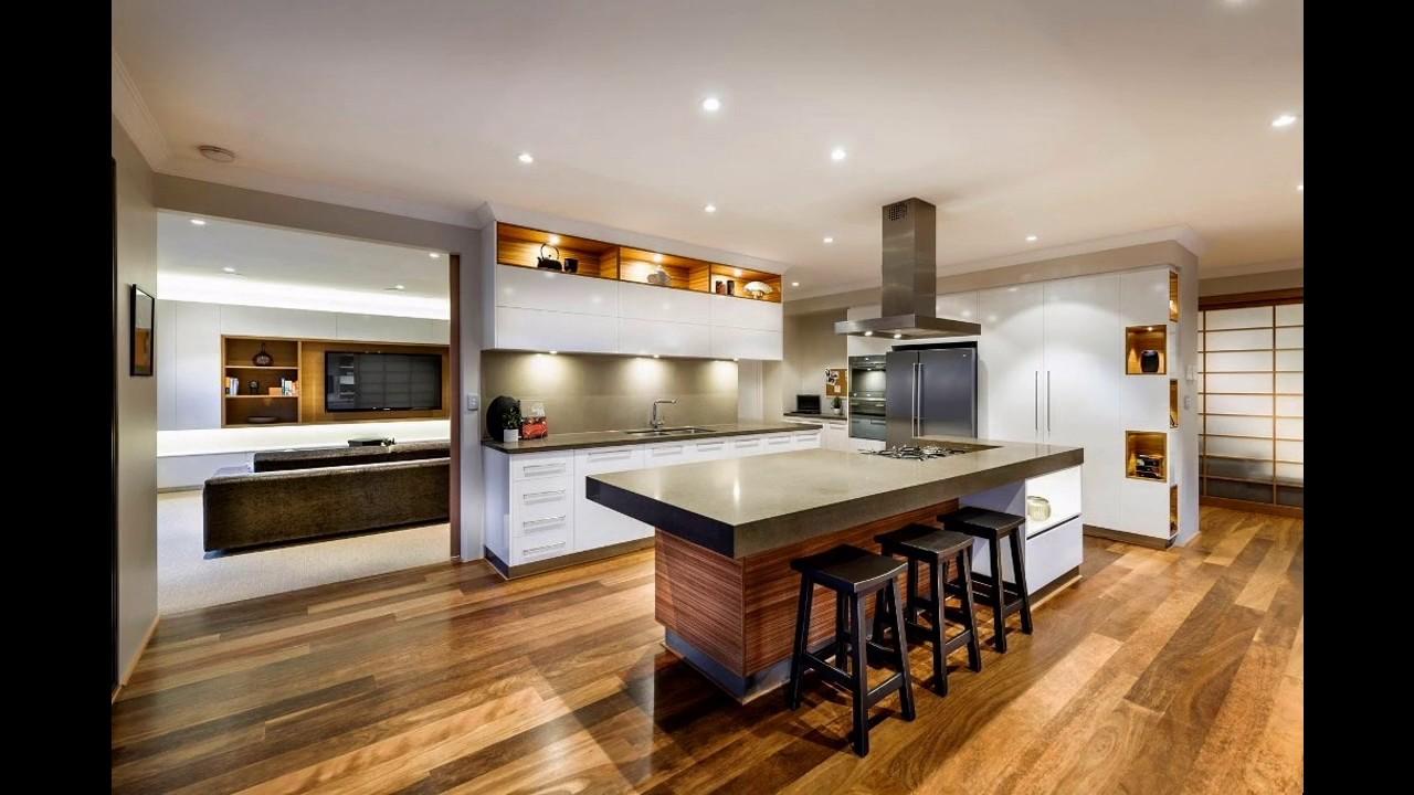 Dise os de cocinas con barras modernas de inspiraci n for Barras modernas