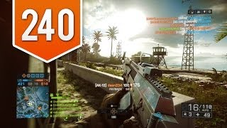 BATTLEFIELD 4 (PS4) - Road to Colonel - Live Multiplayer Gameplay #240 - TAKE BRAVO BABY!