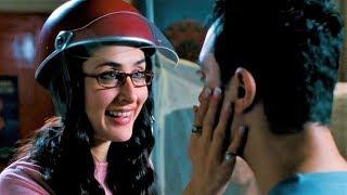 Три идиота (2009) - Ты правда считаешь, что носы будут мешать, если мы поцелуемся?