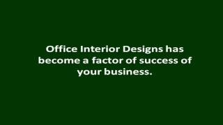 Office Interior Designs | Office Interior Designs Program | Interior Design Solution And Tips