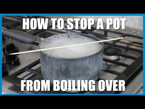 BG Food: How to Stop a Pot from Boiling Over