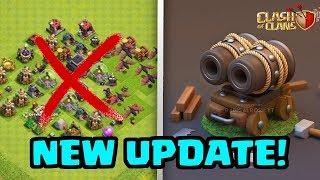 NEW Clash of Clans Update Today! | Double Cannon Cart?