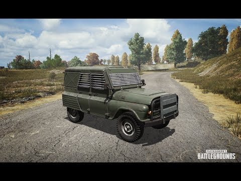 (1 Win) PUBG - New Event Mode - Armoured Vehicle & Flare Guns!!!