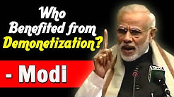 """Who Benefited from Demonetization: Narendra Modi clarifies at """"Making of Constitution""""  Launch"""