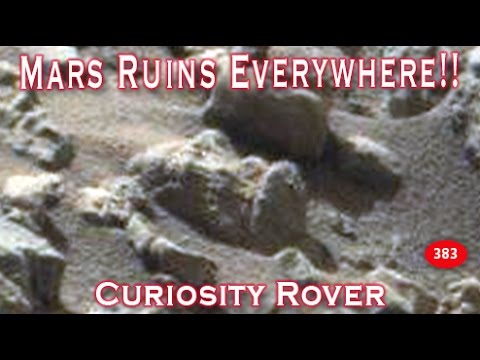 Civilization Ruins In New Mars Curiosity Rover SOL 1408!