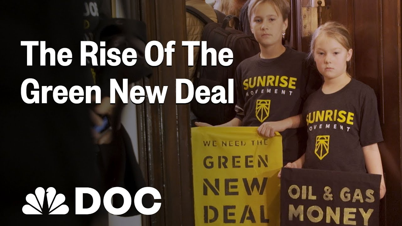 Inside The Sunrise Movement: How Climate Activists Put The Green New Deal On The Map | NBC News
