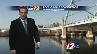 Fireball Caught Live on WPRI-TV