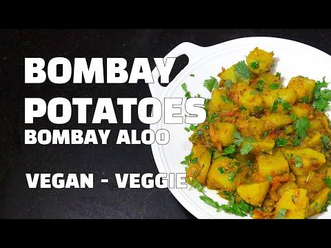 Bombay Potatoes - Bombay Aloo - Dry Fry Potato Curry - Vegan Recipes - Youtube