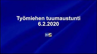 Työmiehen tuumaustunti 06.02.2020