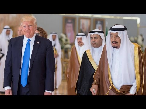 As Iranian Voters Reject Hardliner, Trump Embraces Saudi Monarch & Vows to Isolate Iran