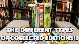 The Different Kinds of Collected Editions