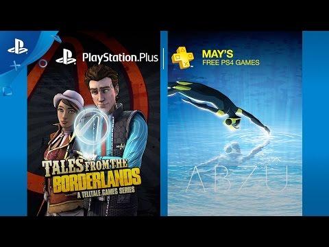 PlayStation Plus - Free Games Lineup May 2017 | PS4