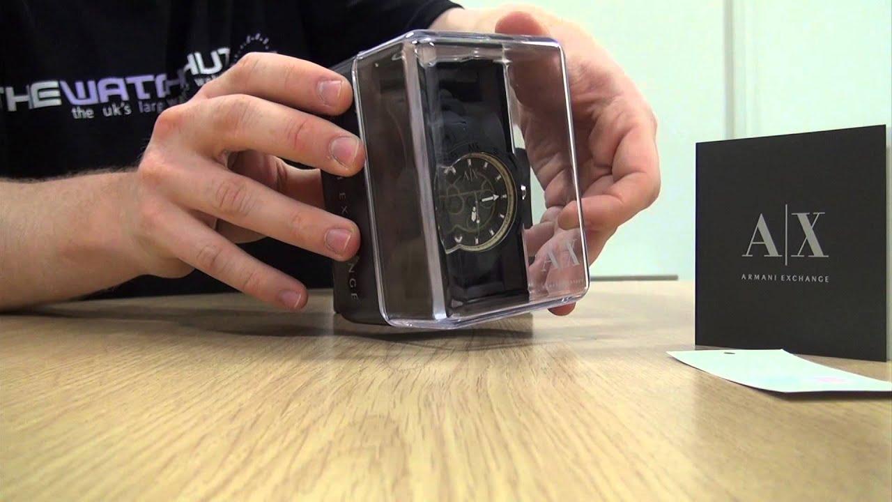Armani Exchange Unboxing (Website Version) - YouTube d35bc08b62