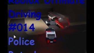 Roblox: Ultimate Driving | Police Patrol #014 | Die Agro Feuerwehr | [Huski/German]
