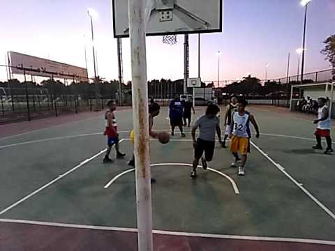 Basketball in Kuwait-1st game-27/5/2016