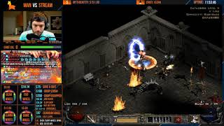 DIABLO 2 - MAN VS STREAM - Barbarian - End me plz [Part 3]