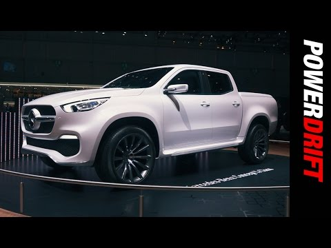 Mercedes Benz X Class : Geneva Motor Show : PowerDrift