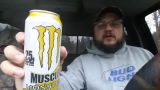 Muscle Monster protein shake energy drink RTD