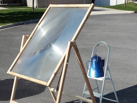 Solar Scorcher -- Tests heating water