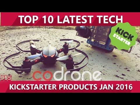 Top 10 Latest Technology Products KickStarter Projects, January 2016 | TechNounce
