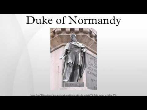 Duke of Normandy