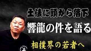 【相撲協会初】響龍の件を語ります。相撲界の若者に見て欲しい