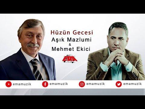 Aşık Mazlumi Ft. Mehmet Ekici - Hüzün Gecesi - (Yaralı Sevdam / 2017 Official Video)