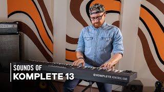 Ondre J Pivec explores Electric Keys and Vintage Organs | Sounds of Komplete 13 | Native Instruments