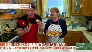 Fantasztikus péksütemények reggelire Bay Évától - tv2.hu/mokka