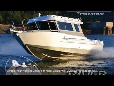 "River Hawk Boats ""NEW SEA HAWK OFFSHORE SERIES"""