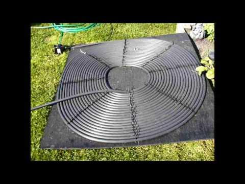 DIY Solar Pool Heater Review For My Intex Pool