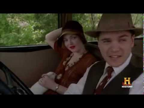 Bonnie & Clyde -- Bonnie Kills a Police Officer in Cold Blood
