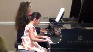 Claire plays Mozart Piano Concerto No.8 in C major, (III) K.246,