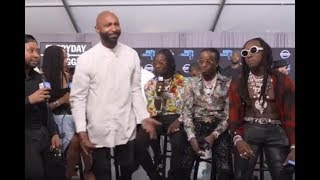 The Truth Behind Migos / QC vs Joe Budden incident at the BET Awards from DJ Akademiks POV.