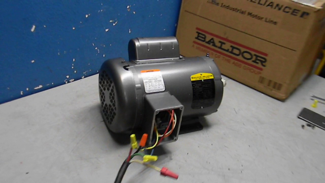 Baldor Electric Motor Wiring Diagram