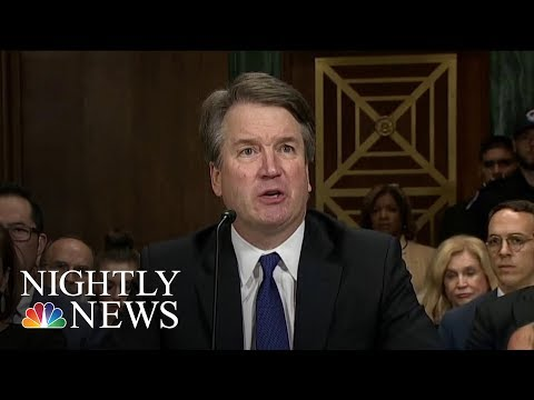 Trump Defends Kavanaugh As 2020 Democrats Call For His Remov