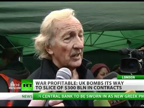 Bomb, Build, Benefit: UK joins gold rush to patch up war-torn Libya
