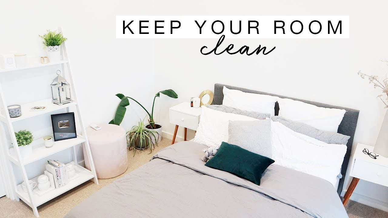 how to keep your room clean