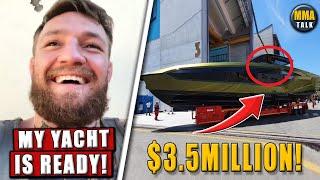 Conor McGregor SHOWS OFF his Lamborghini Yacht, Michael Chandler DEFENDS Conor McGregor,Sonnen-Jones