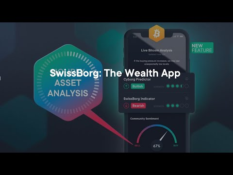 SwissBorg Wealth App - The Best Way To Buy Bitcoin And Crypto In 2020