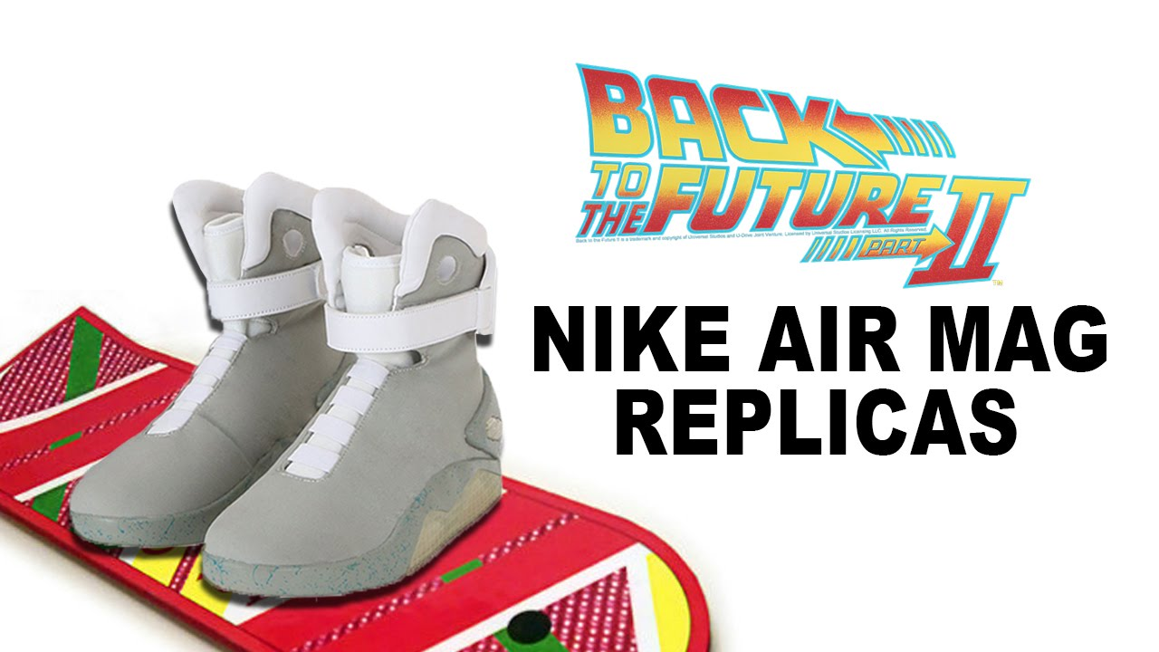 Cheap nike air mag china - Unboxing Back To The Future Nike Air Mag Replica Halloweencostumes Com