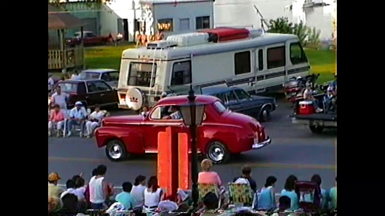 Rouses Point Parade  7-3-88