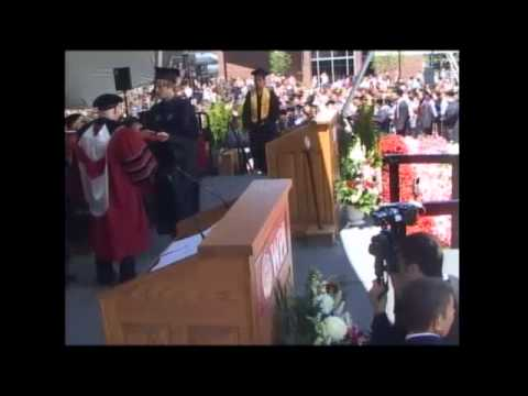 2014 Commencement | Conferring of Bachelor's Degrees