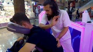 Video MASSAGE THERAPHY ON CHAIR  (No Talking Turkish Asmr Head & Back Massage) download MP3, 3GP, MP4, WEBM, AVI, FLV November 2018