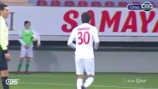Uzbekistani winger Shohruh Gadoev scores his first goal in Azerbaijan