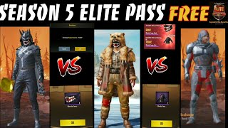 How to get free elite pass season 5 Tamil and what is given in S5
