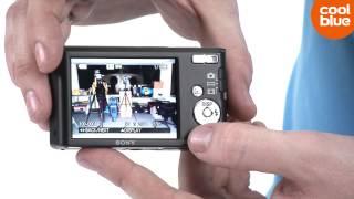 Sony CyberShot DSC-W830 compactcamera productvideo NLBE MVB