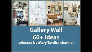 60  Gallery Wall Ideas – Diy Wall Decor Inspo