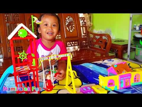Mainan Anak Perempuan Mainan Taman Bermain Playground dan Rumah-rumahan Kids Zone Playground