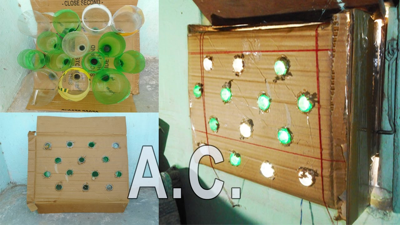 how to make solar air conditioner at home